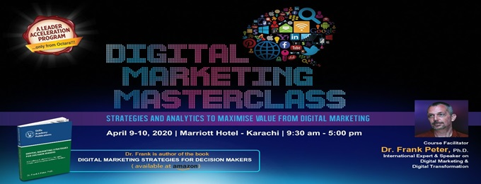 digital marketing masterclass by dr. frank peter