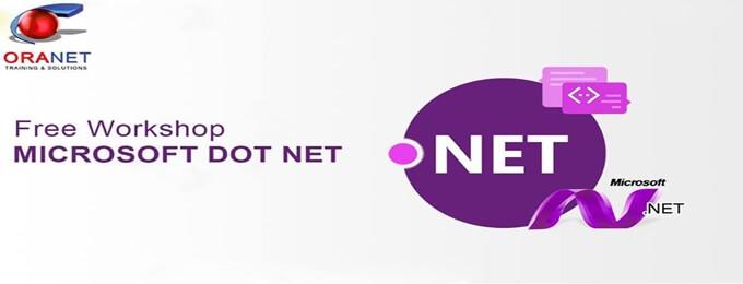 free workshop microsoft dot net at oranet cavalry