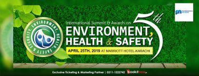 5th international environment, health & safety summit & awards