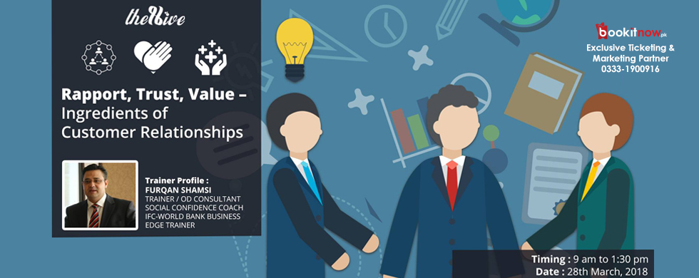rapport, trust, value – ingredients of customer relationships