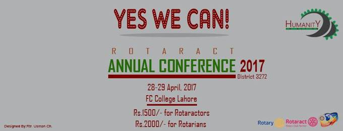 annual rotaract conference 2017