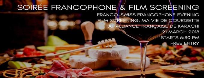 Soirée Francophone & Film Screening