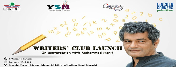 writers' club launch