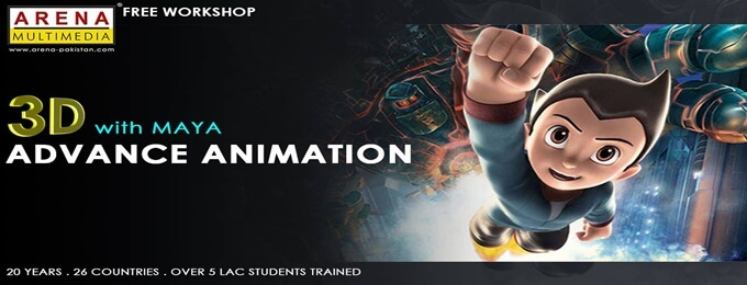 be an expert in 3d animation with arena multimedia