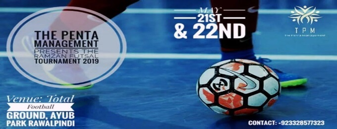 tpm presents ramzan futsal tournament