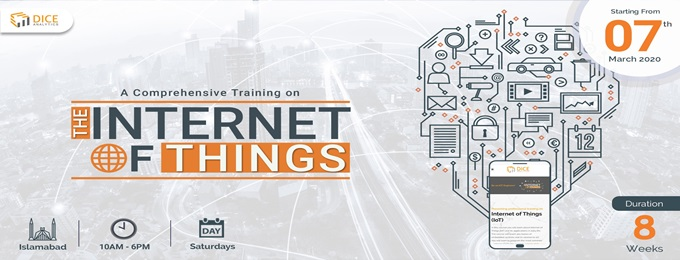 islamabad exclusive training: internet of things