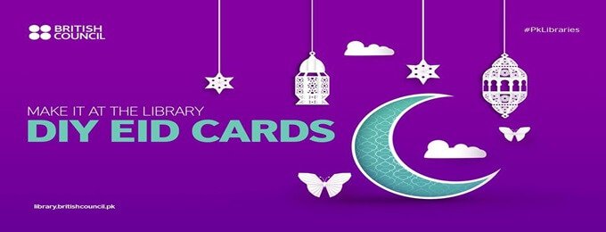 make it at the library: diy origami eid cards