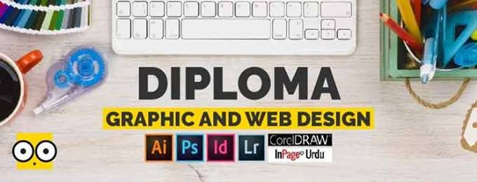 Diploma in Graphic and Web Design (6 months)
