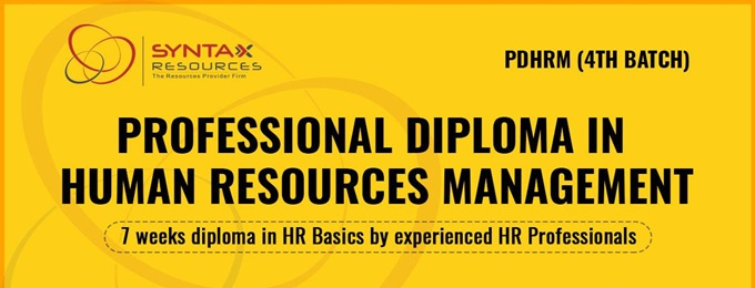 professional diploma in human resources management (pdhrm)