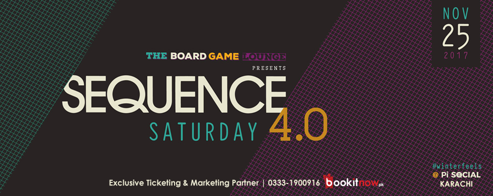 sequence saturday - winter edition at the boardgame lounge
