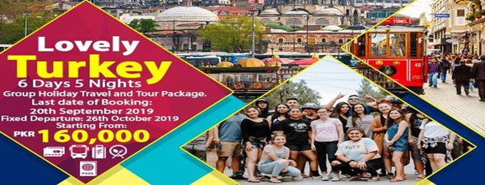 lovely turkey 6 days group holiday travel and tour package.