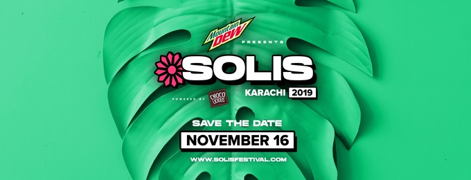 mountain dew presents solis music & arts festival, karachi