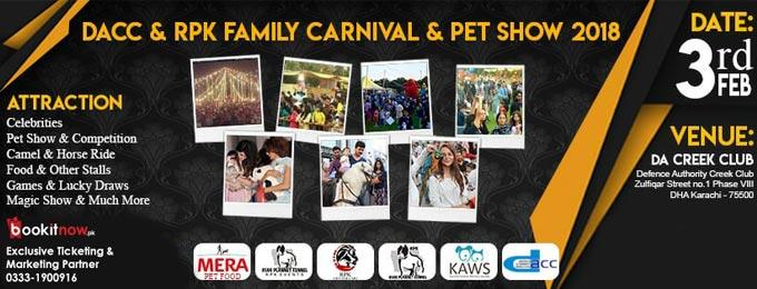 Rpk & Dacc Carnival & Pet Show | Karachi - Bookitnow pk