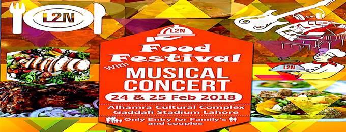 l2n food festival & musical concert