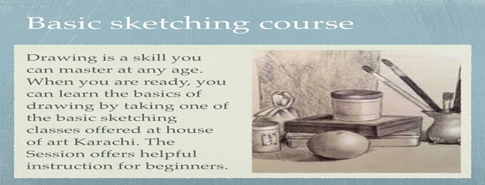 basic sketching course