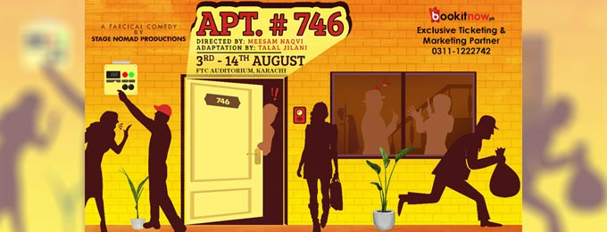 Apartment # 746 in Karachi