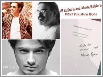 Ali Zafar's Debut Pakistani Movie