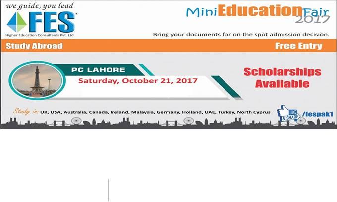 fes 8th mini education fair - lahore