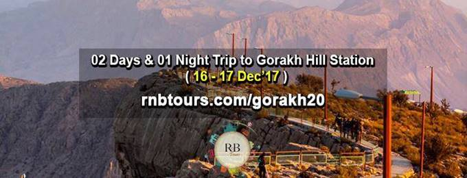 02 Days & 01 Night Camping Trip To Gorakh Hill Station