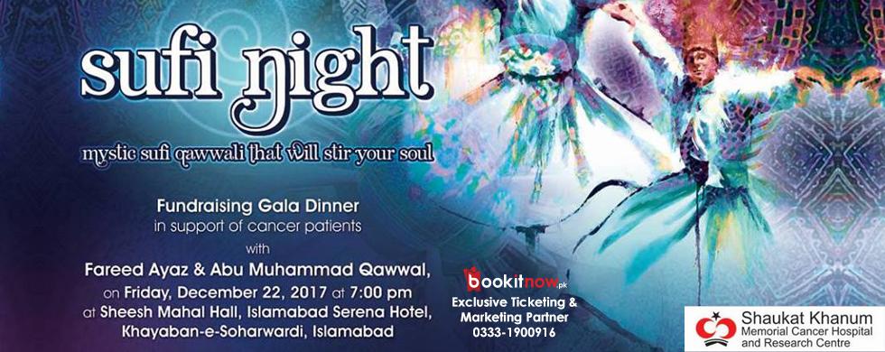 fundraising gala dinner - sufi night