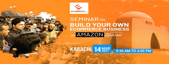 build your ecommerce business on amazon from pakistan
