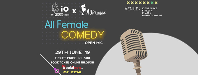all female comedy (open mic)