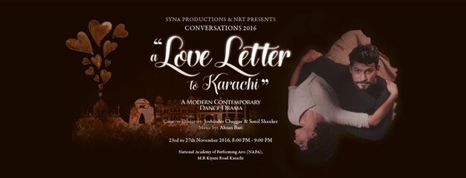 A Love Letter to Karachi