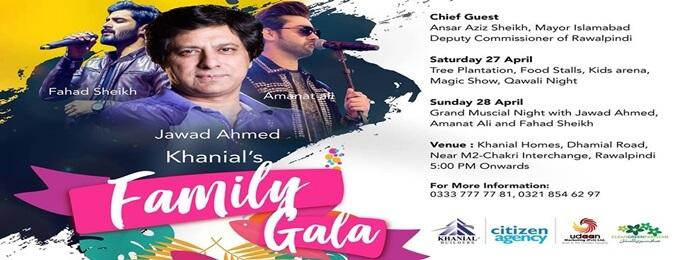 family gala at khanial homes