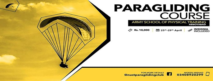 paragliding training course