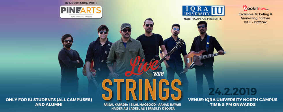 live with strings