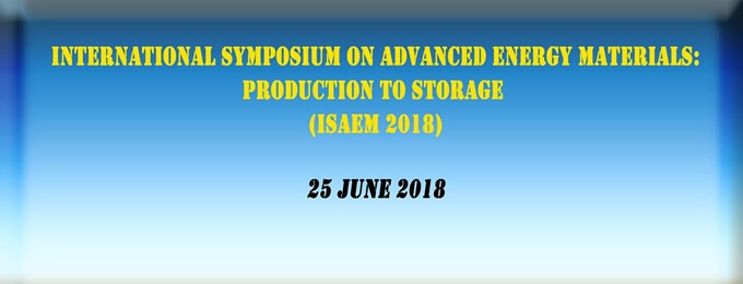international symposium on advanced energy materials