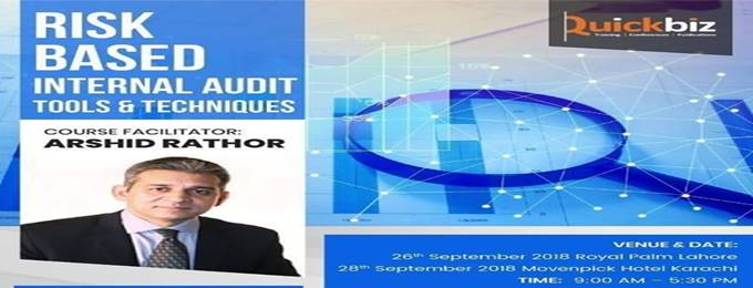 risk based internal audit - tools & techniques