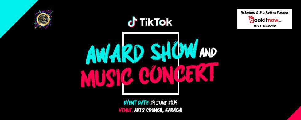 tik tok award show &music concert