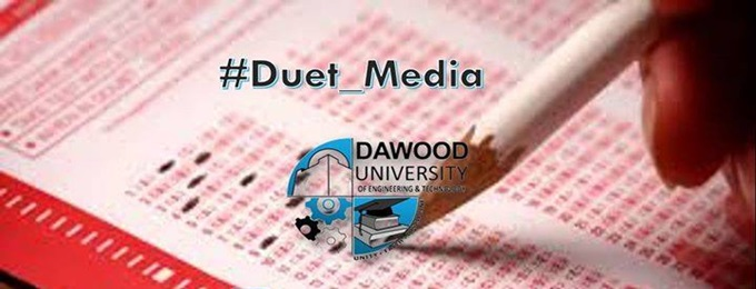 dawood university entry test
