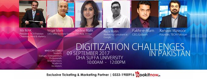 Digitization Challenges in Pakistan
