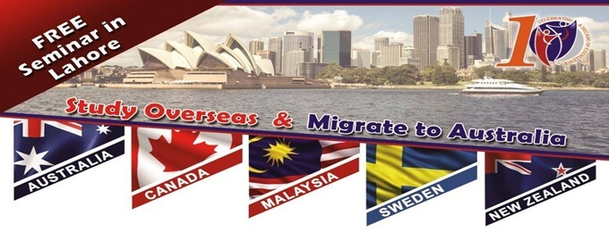study overseas & migrate to australia free seminar in lahore