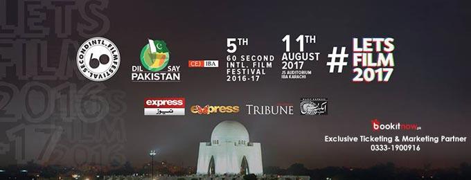 60 Second Intl. Film Festival Karachi Chapter