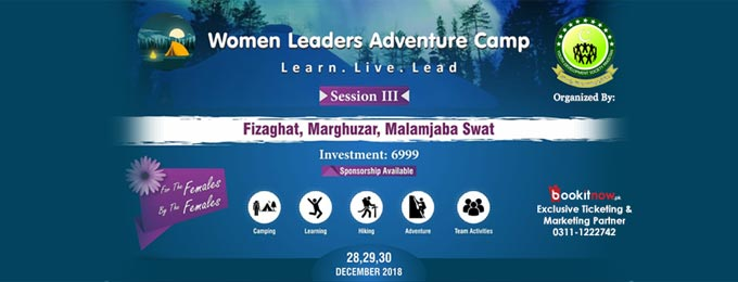 women leaders adventure camp session 3