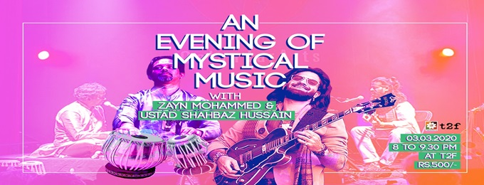 an evening of mystical music with zayn mohammed & ustad shahbaz