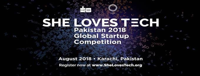 she loves tech pakistan 2018