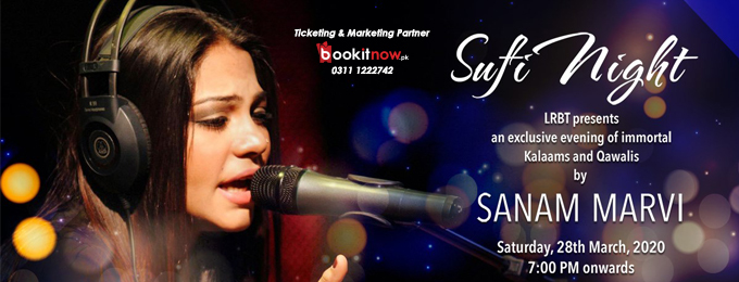 LRBT Sufi Night by Sanam Marvi