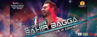 sahir ali bagga live concert at port grand