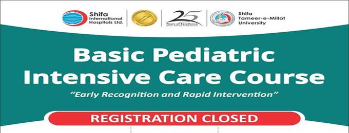 basic pediatric intensive care course