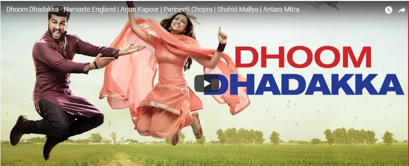 Dhoom Dhadakka | SONG - Namaste England