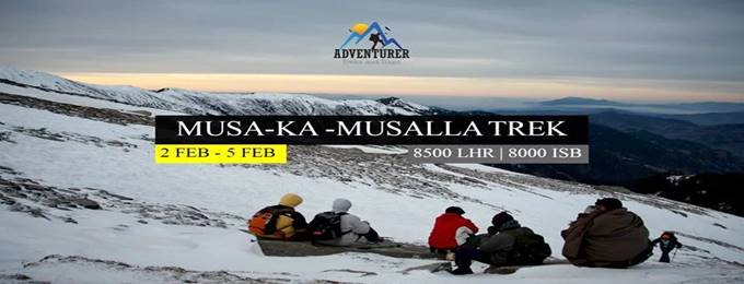 3 days musa ka musallah winter survival 02 feb - 05 feb
