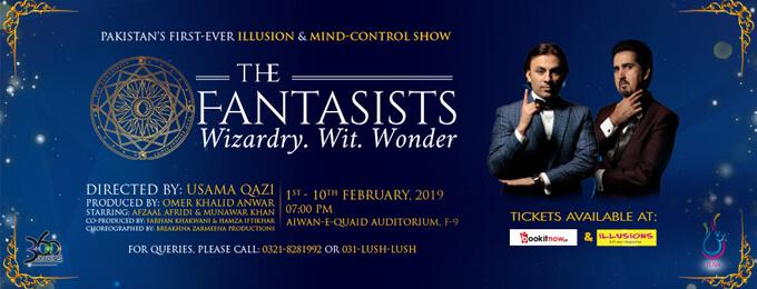 The Fantasists - Wizardry. Wit. Wonder