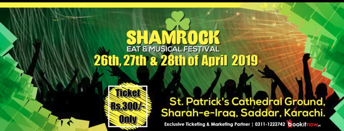 shamrock eat & musical festival