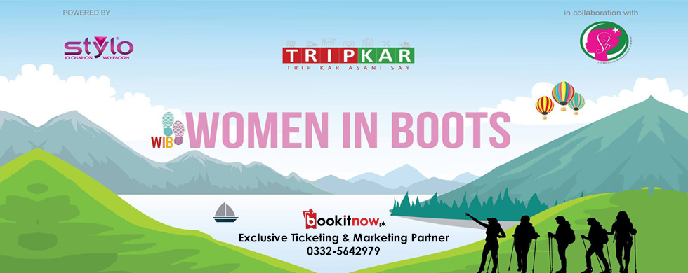 tripkar women in boots, powered by stylo (in collab with she)