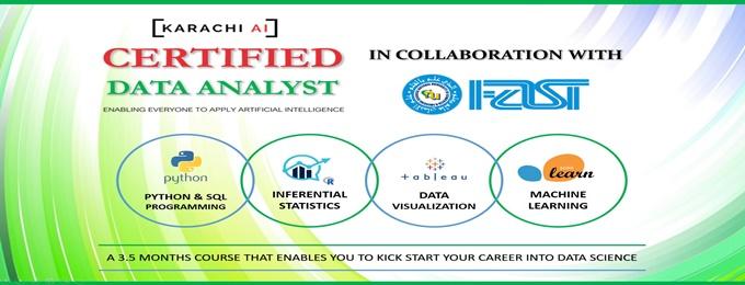 karachi ai : certified data analyst training | batch 4
