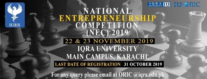 national entrepreneurship competition (nec) 2019